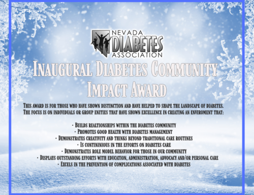 Inaugural Diabetes Community Impact Award 2020 Finalist
