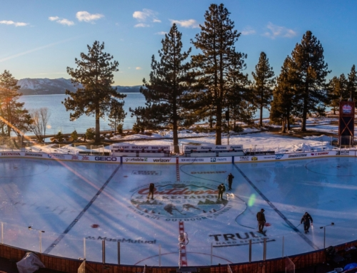 2021 Lake Tahoe Outdoor Hockey National Anthem